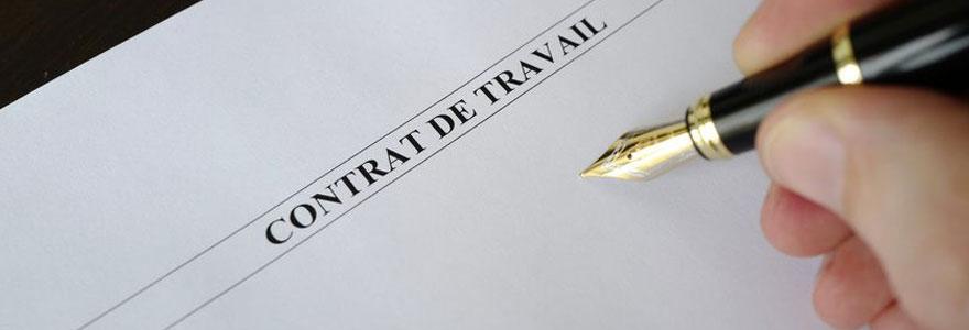 rédiger un contrat de travail